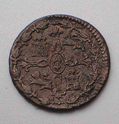 2 Maravedís de Fernando VII (Jubia/Xuvia, 1815) [WM n° 8214] C0626d388611ad407cf47af01975a36bo