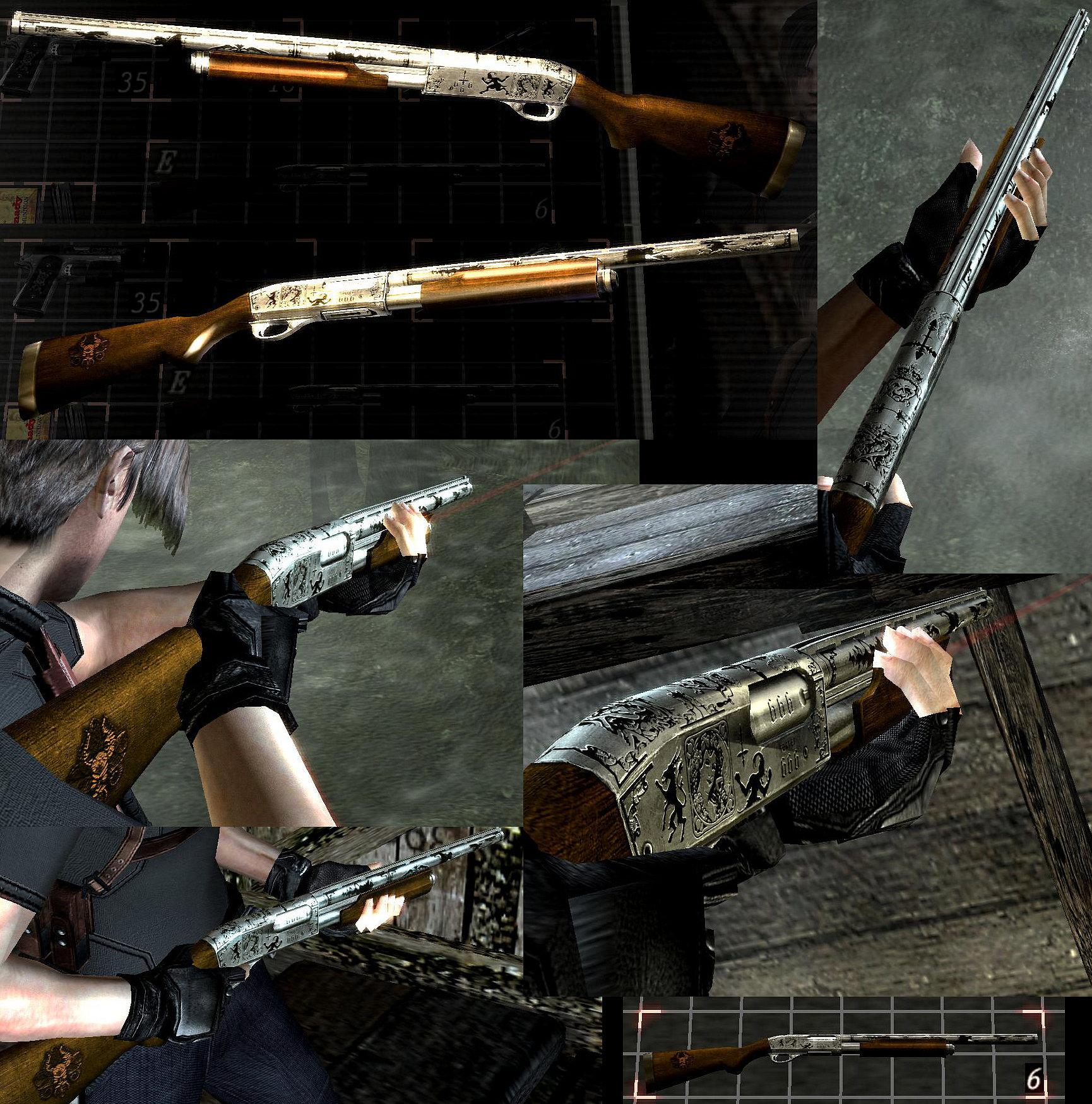 Skins / Armas / HD/ Resident Evil 4 / Autor / Cerberus / Parte 2 C4af51d113800717364f03acfc46aa9ao