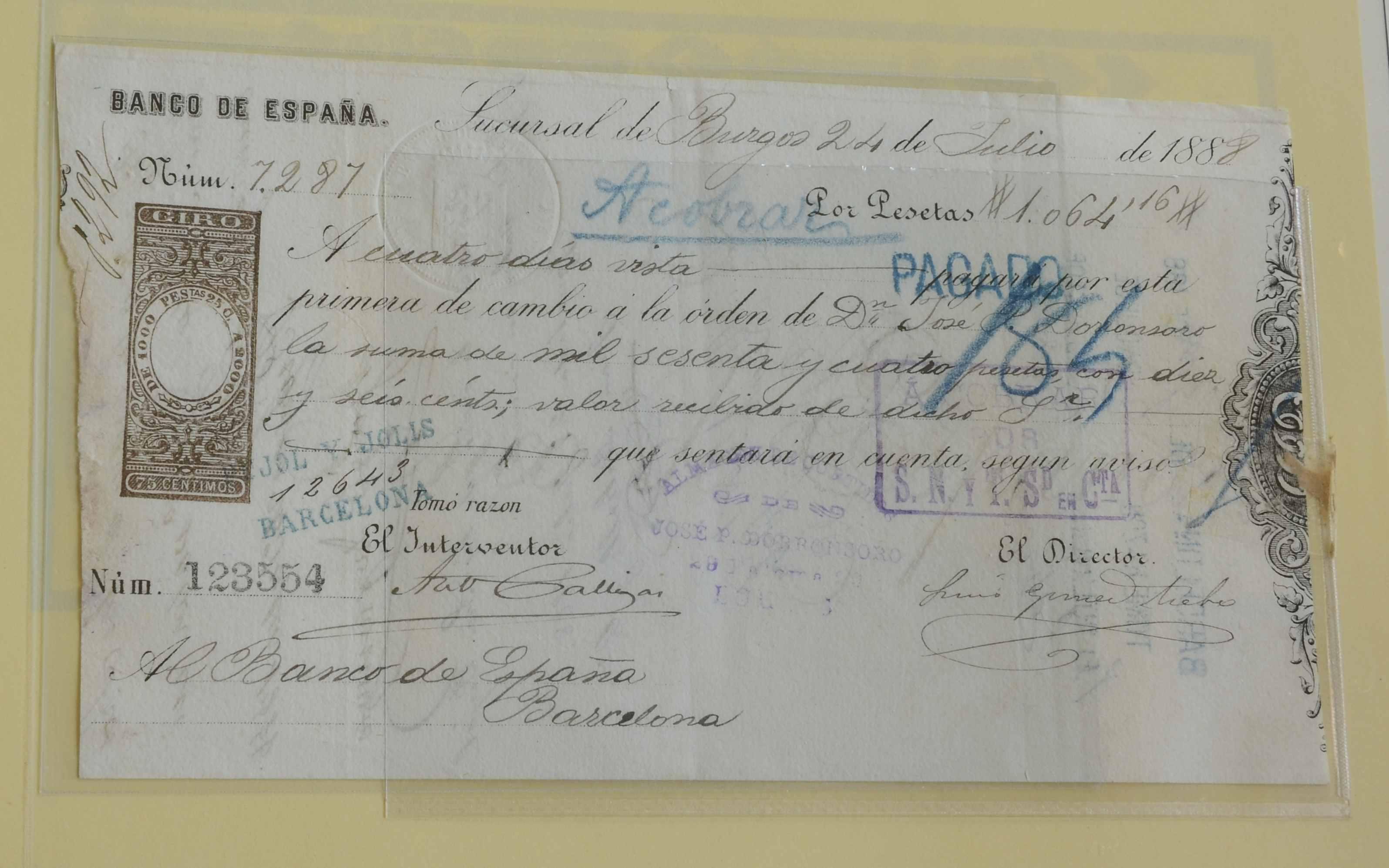 """Documentos del Banco de España y """"Fondo de papel moneda"""" D8a777308c09afd40d132ce6ef0255bco"""