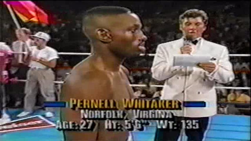 Boxeo, combate historico, Poli Diaz vs Pernell Whitaker, 27/07/1991 E45f010308782def0743277355f42492o