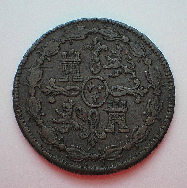 8 Maravedís de Fernando VII (Jubia 1817) [WM nº 8926] F9693ff1a5b659c09abd1be7686f2cb1o