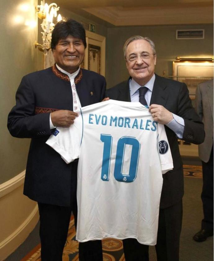 ¿Cuánto mide Evo Morales? - Altura - Real height Florentino-perez-1