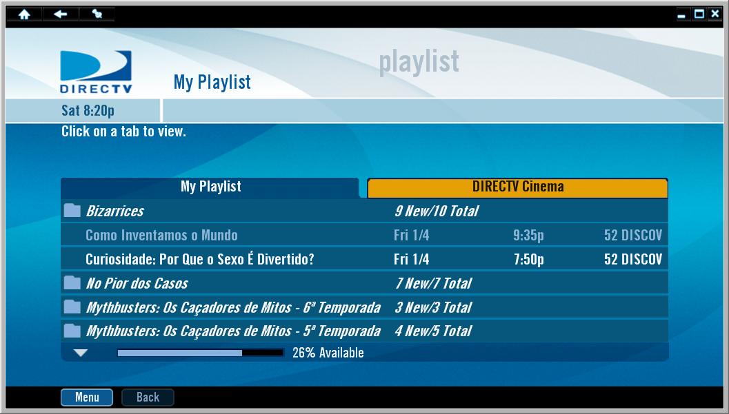 gravação - [SKYTEC] Assistir gravação do SKY HD Plus no computador (DirecTV2PC) - Página 2 Directvtopc