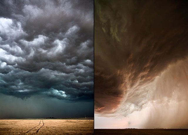 IMAGENES: visiones de la Tierra capturadas por el ojo humano Nubes-espectaculares