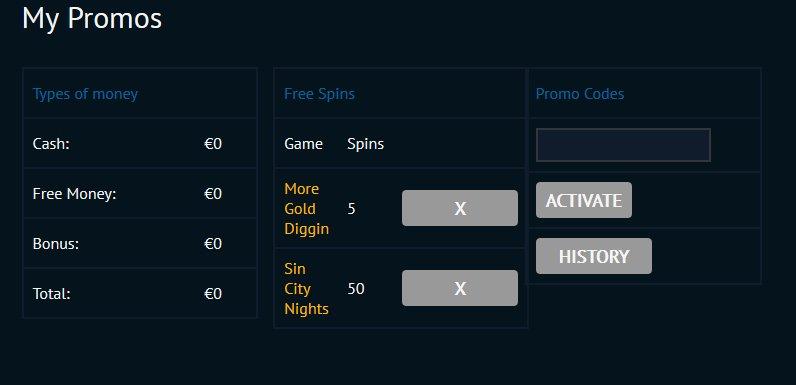 BetVoyager Casino 5 spinów bez depozytu 1