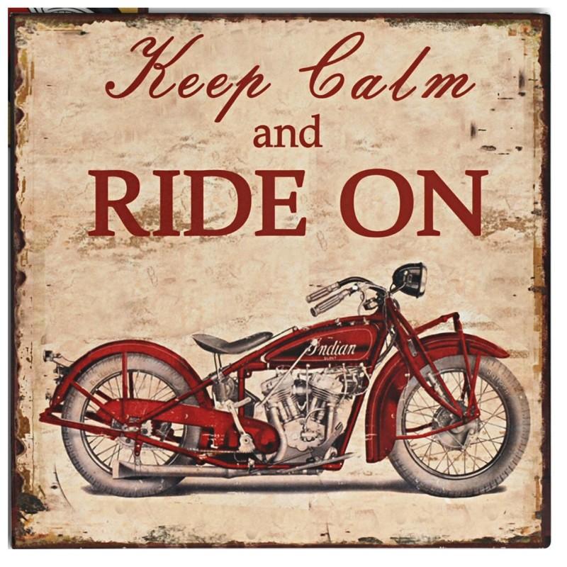 affiches anciennes ou pubs indian Plaque-decorative-moto-indian-en-fer-peint-style-vintage