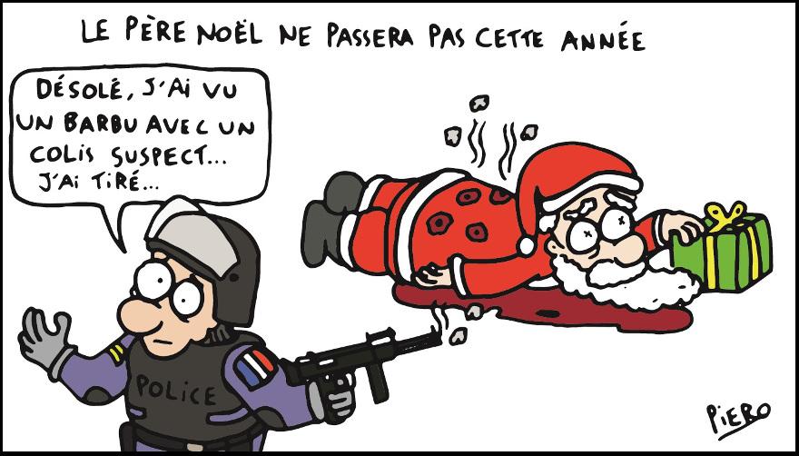 Joyeux Noël 2018 Caricature-147