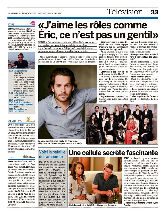 Articles presse et internet Saison 9 - Page 2 27933-LessentielLuxembourg-1678-Page-033