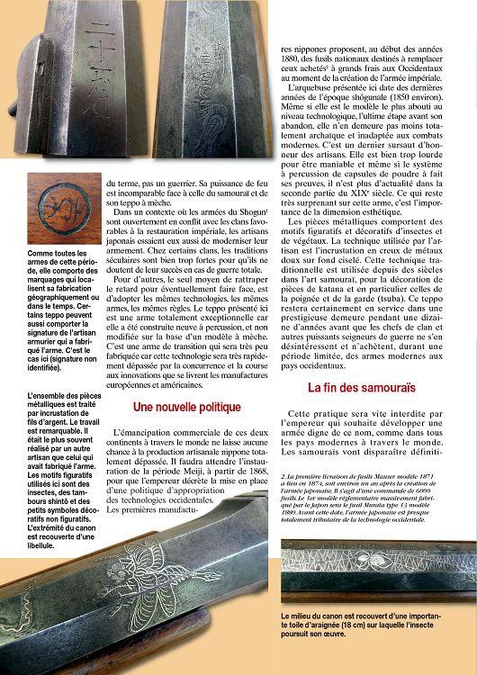 Teppo (arquebuse à mèche Japonaise) - Page 3 13646-GazettedesArmes-418-Page-036