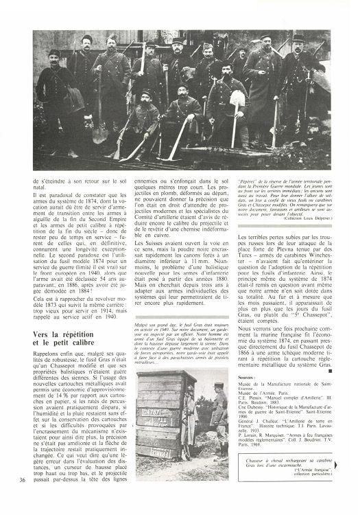 Fusils et carabine Gras dans l'armée de l'air en 1938-1940 17028-GazettedesArmes-97-Page-036