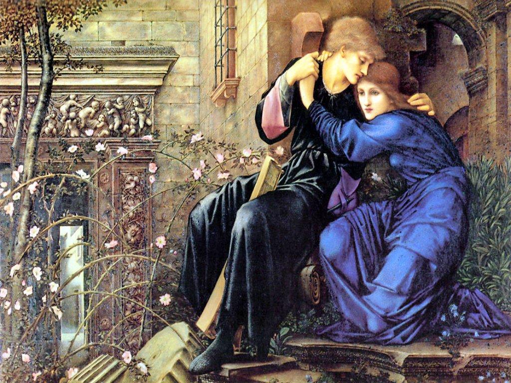 Debussy - Pelléas et Mélisande (2) Burne-jones-love-among-the-ruins
