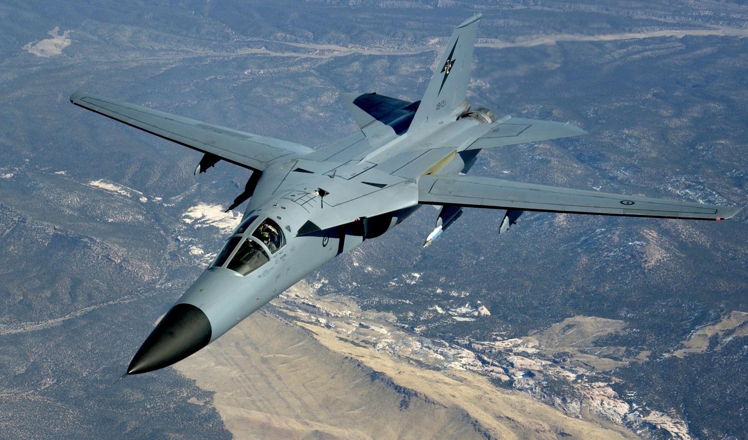 اسرع 50 طائرة في العالم RAAF_F111