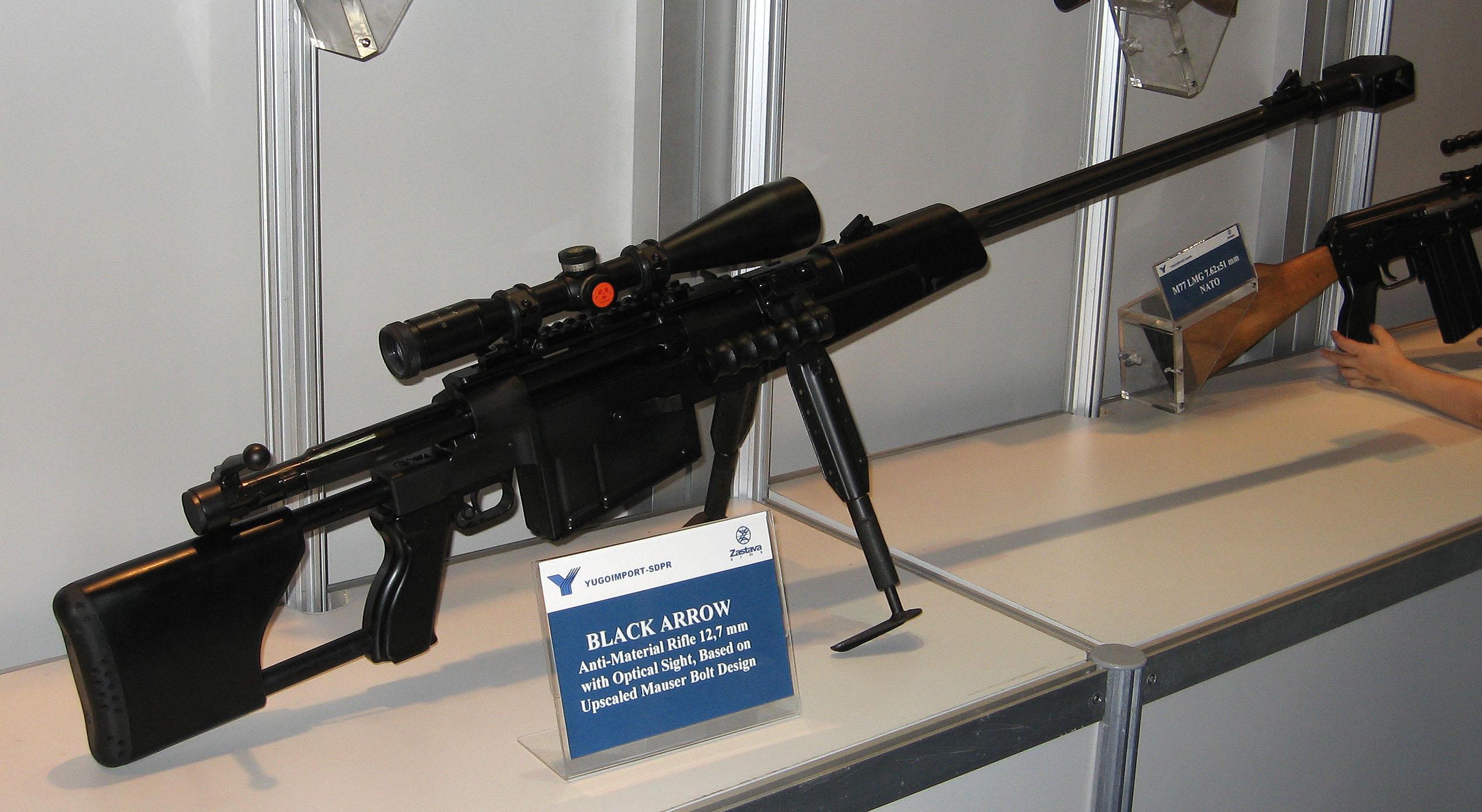 القناصة اليوغسلافية M-93 Black Arrow Sniper_Zastava_M93