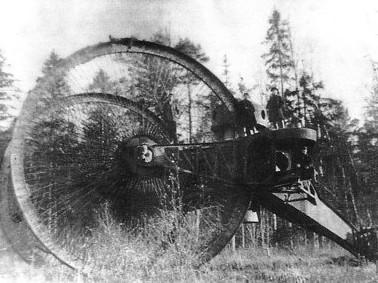 Images de tanks étranges de la première guerre mondiale  - Page 2 Tsar_tank