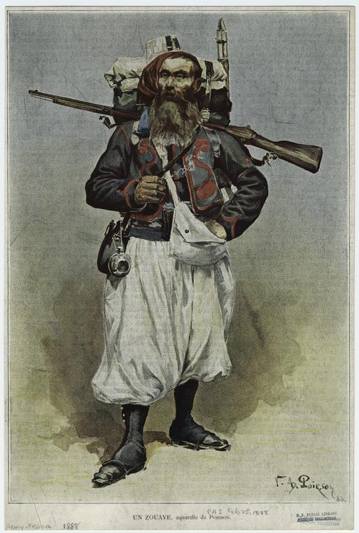Premier essai : zouave Pegaso Zouave1888