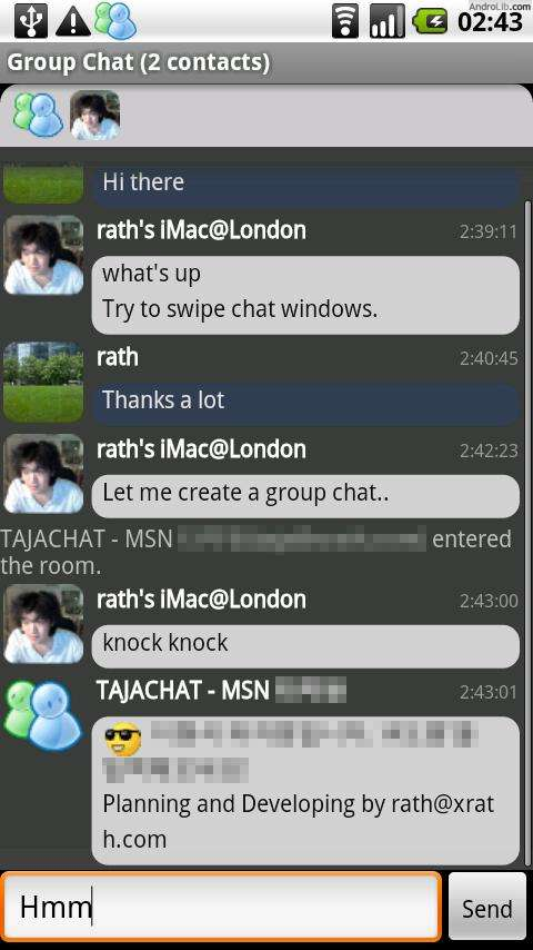 [SOFT] MSN TALK : Client MSN [Gratuit]  IizA.u.cs