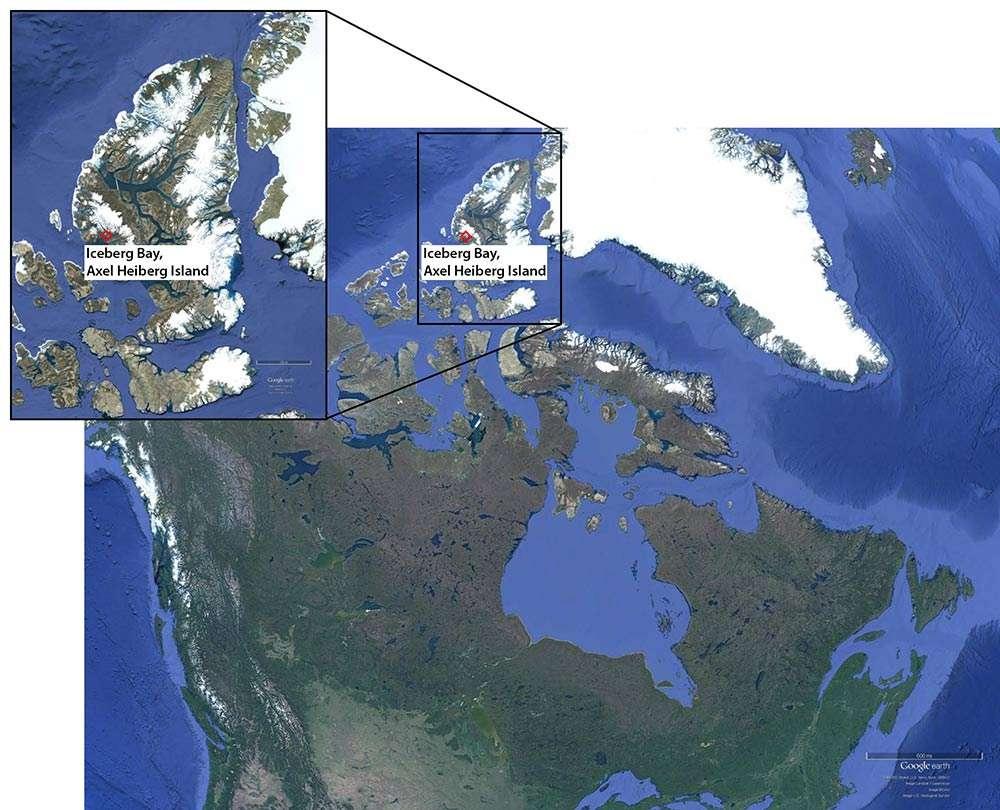 Fossile : un oiseau à dents découvert dans l'Arctique canadien ! Par Jean-Luc Goudet 098132b164_100154_oiseau-prehistorique-carte