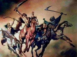 A la veille de la guerre, les cavaliers de l'Apocalypse se préparent 4fc23742