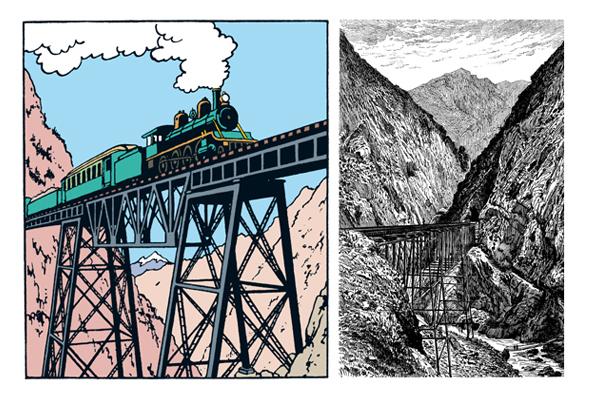 cordillère des Andes Pont