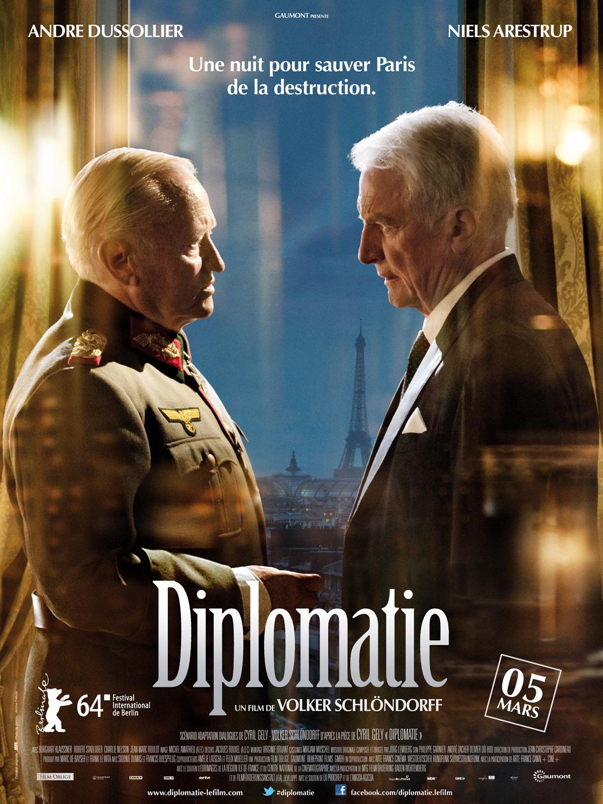 Diplomatie, ou comment on empêcha la destruction de Paris 590379