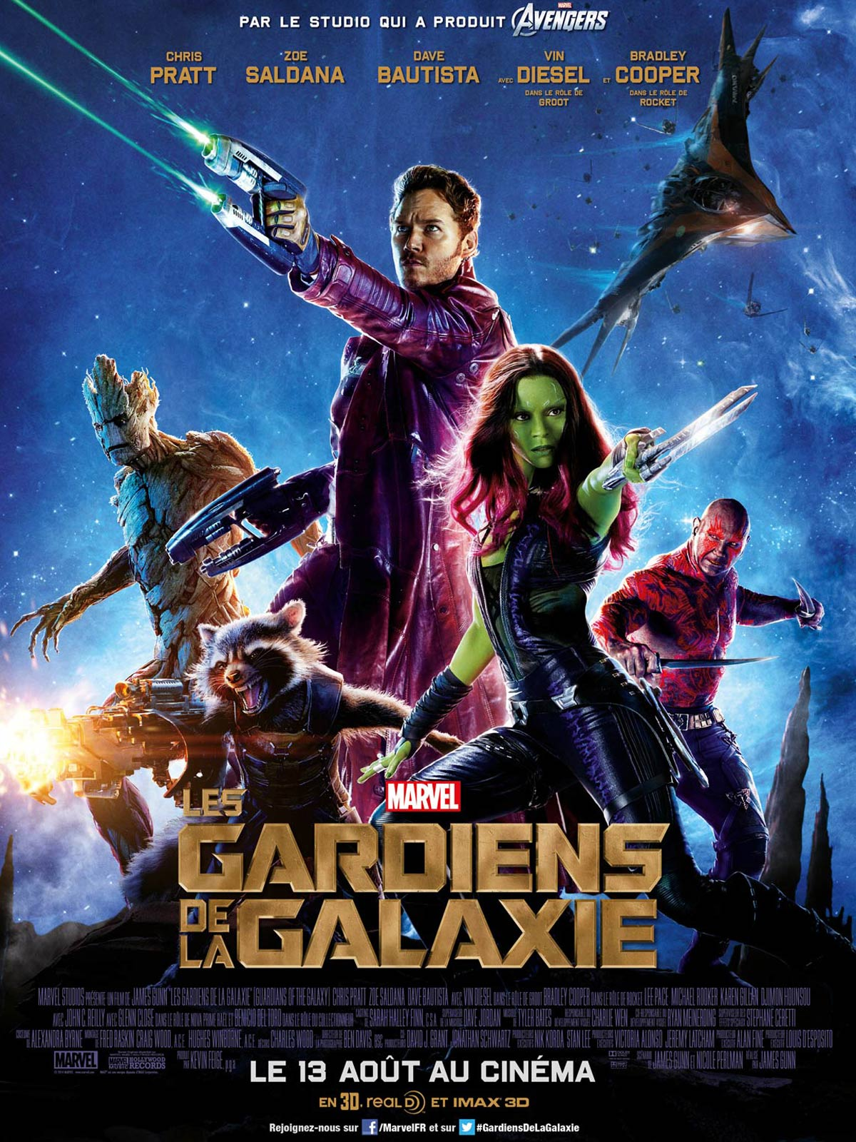 Les Gardiens de la Galaxie [2014]  production Disney 405662