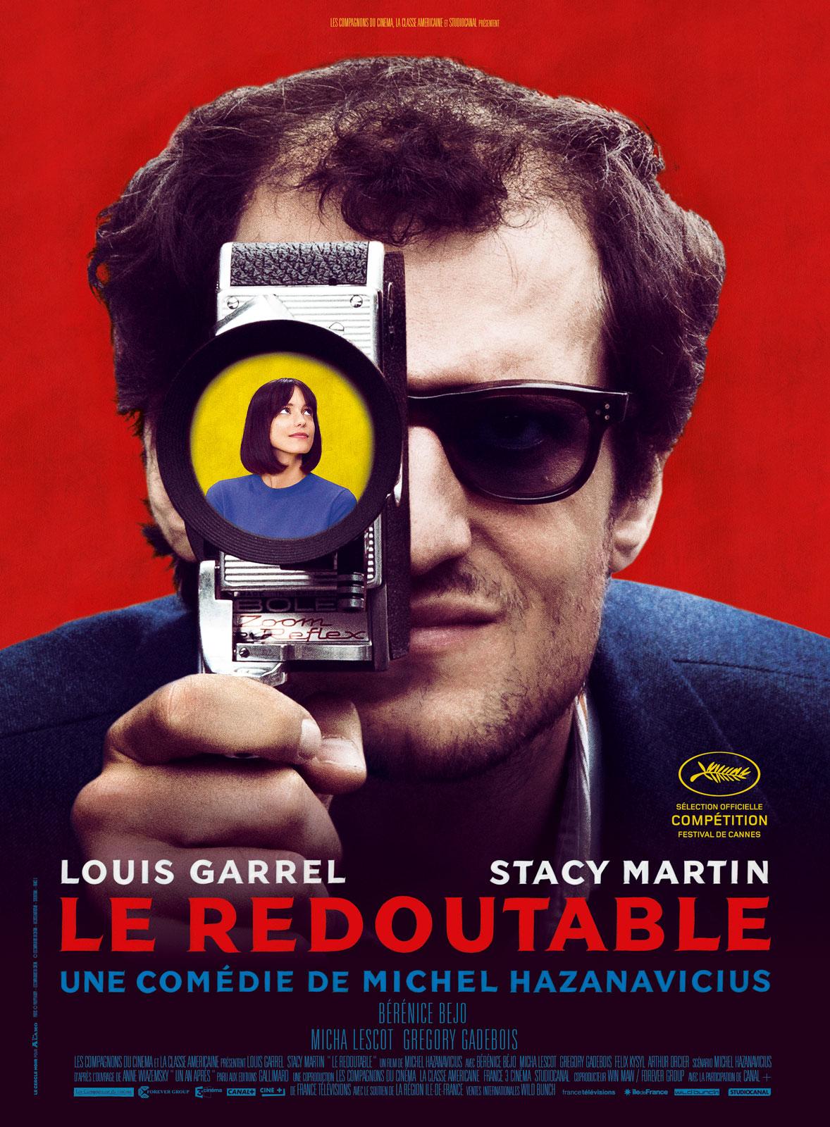 """[Film] Nicolas Berno dans """"Le Redoutable"""" (2017) 052385"""