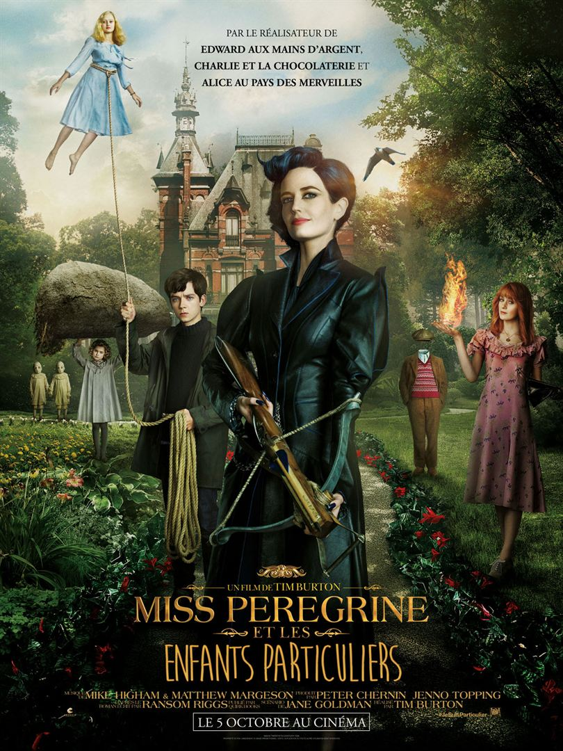 Miss Peregrine et les enfants particuliers 413443