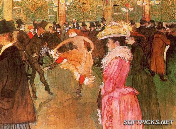 Les élégantes Henri-Toulouse-Lautrec-Screensaver-125-Paintings