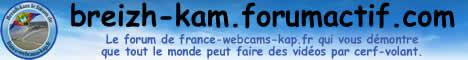 Breizh-kam, le forum de Fraance Webcams KAP pour faire des photos et vidéos par cerf-volant
