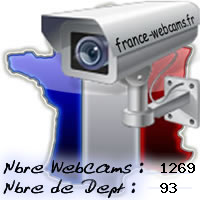 France Webcams, les webcams de France, Corse et DOM TOM