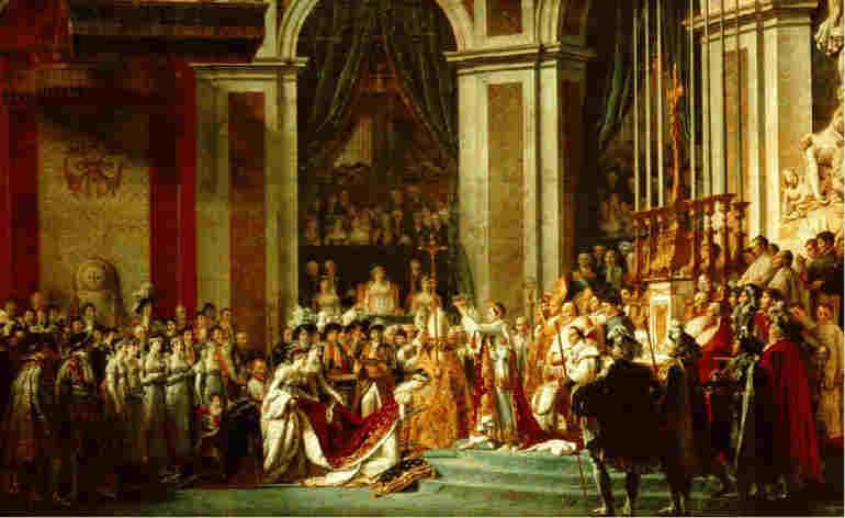 Le tableau de l'Empereur que je préfère. David-sacre-napoleon