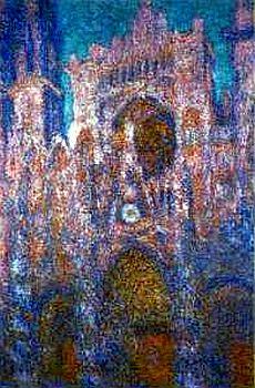 BOUDDHA dans la déco qu'en pensez vous ? - Page 2 Cathedrale-rouen-gris-et-rose-18h30-National-Museum-of-Wales-Carfiff