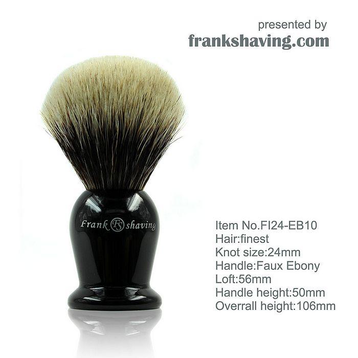 Frank Shaving finest badger 2012070609065525170