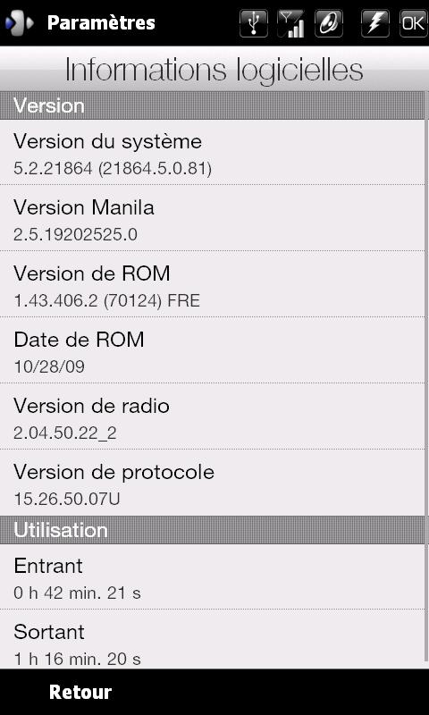 Officiel Update ROM 1.48 (dispo FR) Info