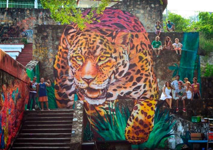 les plus beaux Street Art  - Page 4 MuralColosoAca2