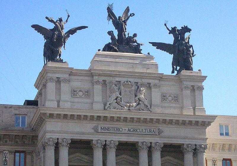 El Madrid de los Borbones (III): Paseo del Prado y Puerta de Alcalá Ministeriodeagriculturamadrid