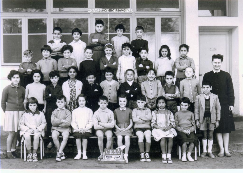 ECOLES  A RABAT EcoleBellevueAgdalRabat1960_1961