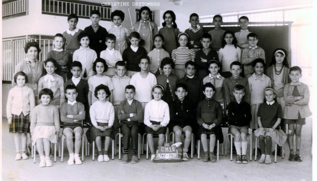 ECOLES  A RABAT EcolePaulCezanne2AgdalRabat1961_1962
