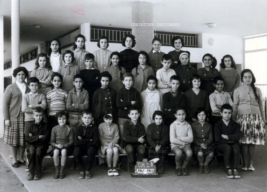 ECOLES  A RABAT EcolePaulCezanne2AgdalRabat1962_1963