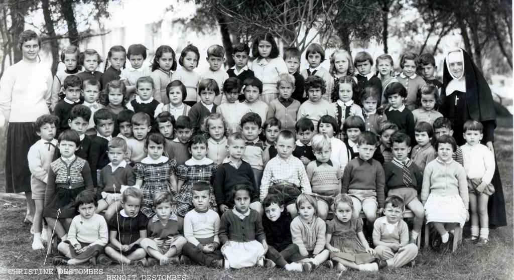 ECOLES  A RABAT JeanneDArcRabat1956_1957