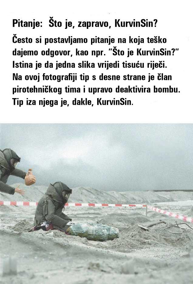 Slika govori više od 1000 riječi Kurvinsin