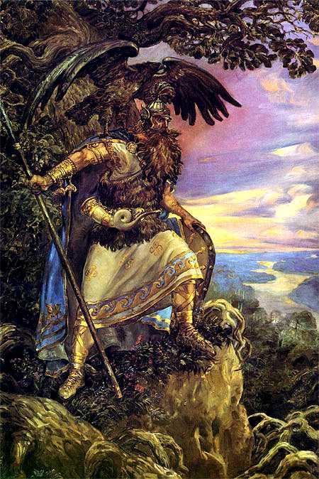 Luj Leže-Slovenska mitologija Perun