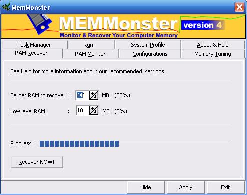 سرع جهازك وقول للبطئ باى باى مع هذا البرنامج الرهيب Mem Monster 04step_MemMonster
