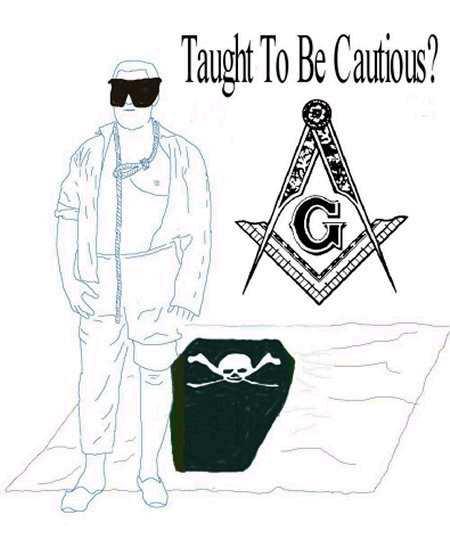 الماسونية  Cautious2