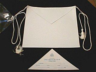 الماسونية  Lambskin.apron