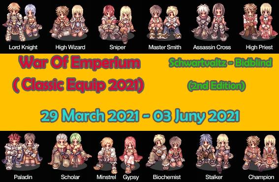Event War Of Emperium Classic Equip 2021 (Season 1) Woe29marchpng