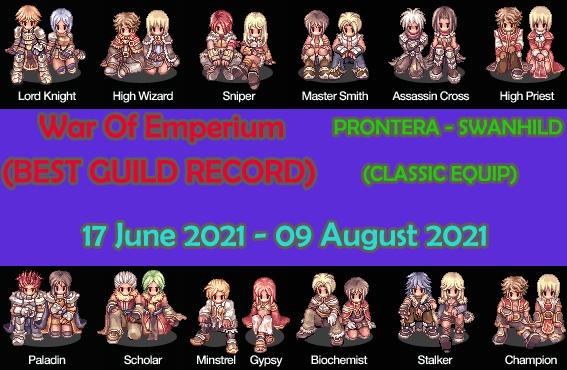 [EVENT] BEST GUILD RECORD 2021 ( CLASSIC EQUIP ) Woebgr17june