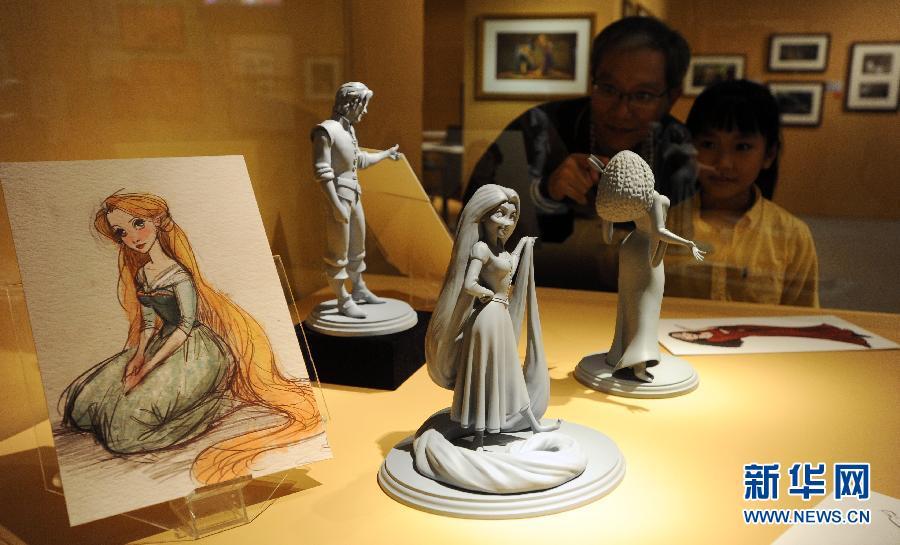 Exposition de trésors de Disney à Taipei F201112120950462471026223