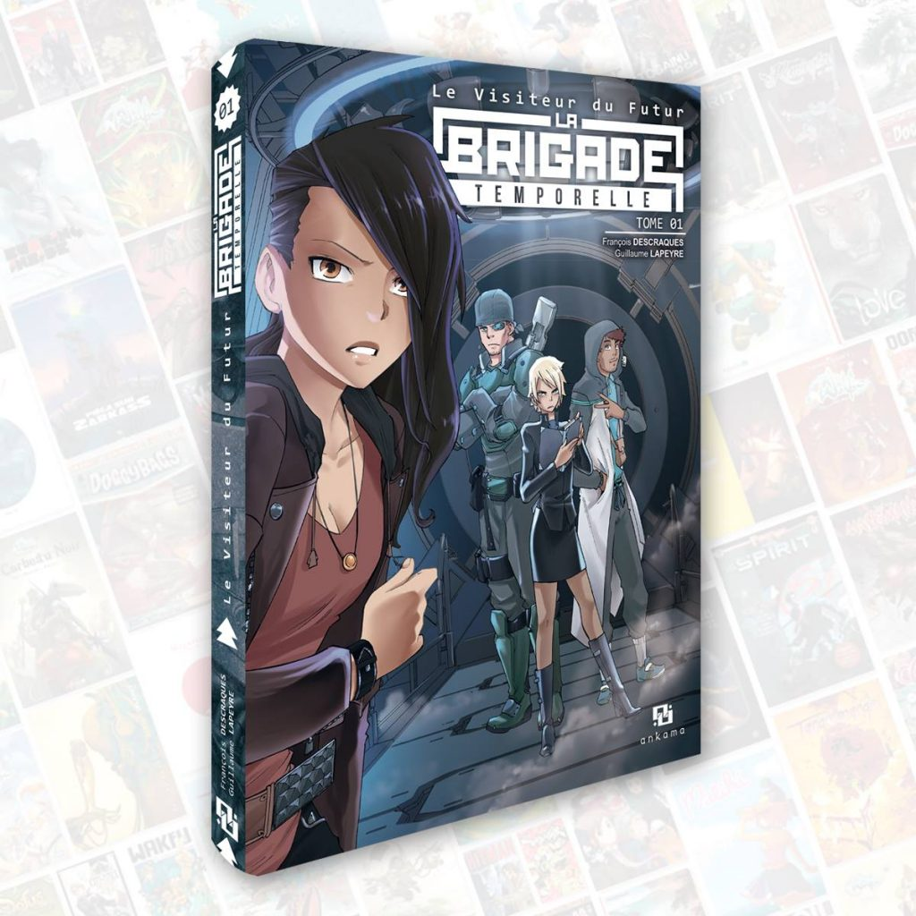 La Brigade Temporelle - Manga- Descraques - Lapeyre