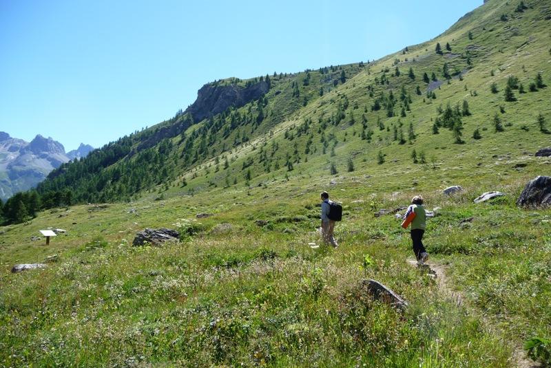 Le Sentier Botanique, Sentier Découvert - Départ du Lavachet 07